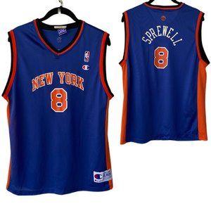 Boy's Vintage New York Knicks Sprewell Jersey
